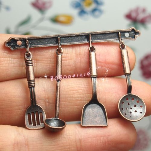 1//12 Miniature Kitchen Utensils Dollhouse Cookware Furniture Toy Pots /& Pans