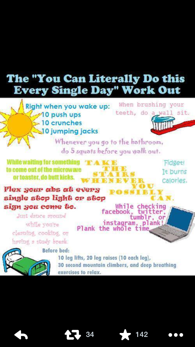 everyday work outs
