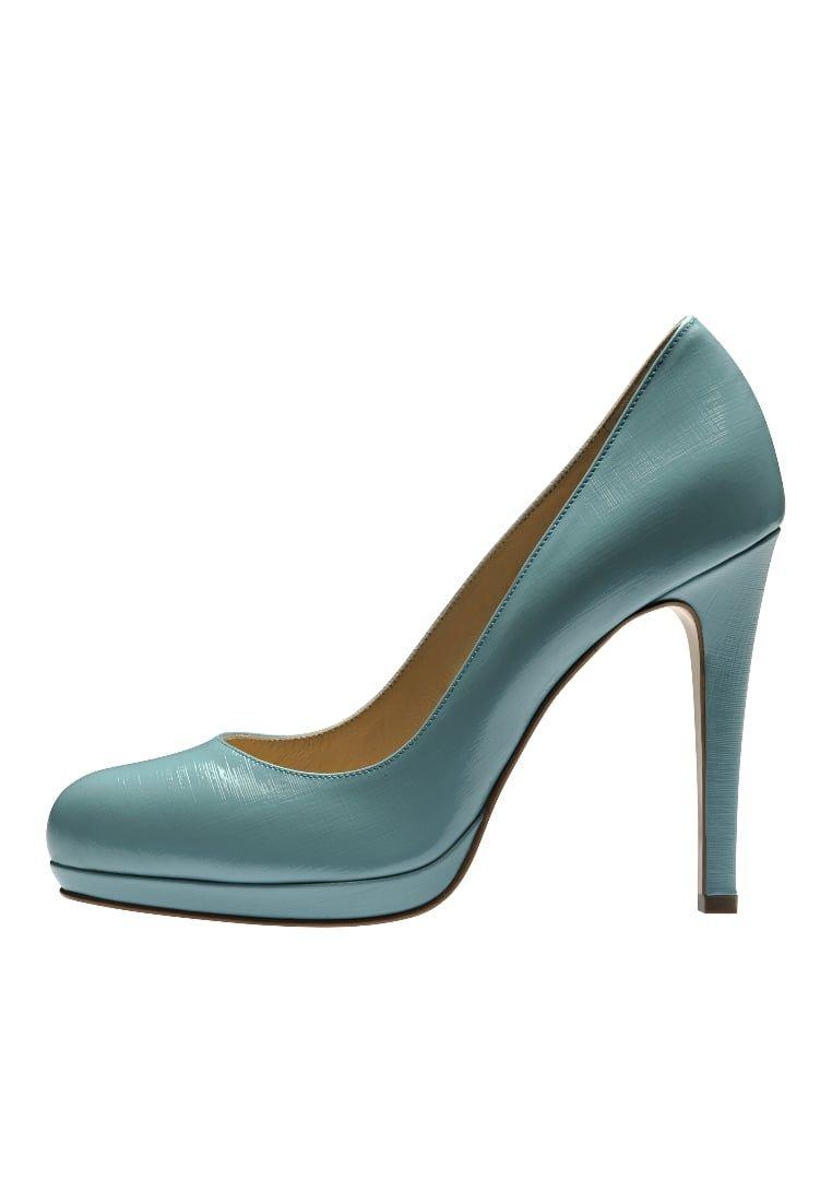 Evita Zapatos altos turquoise Y6Cfwgt1Tl