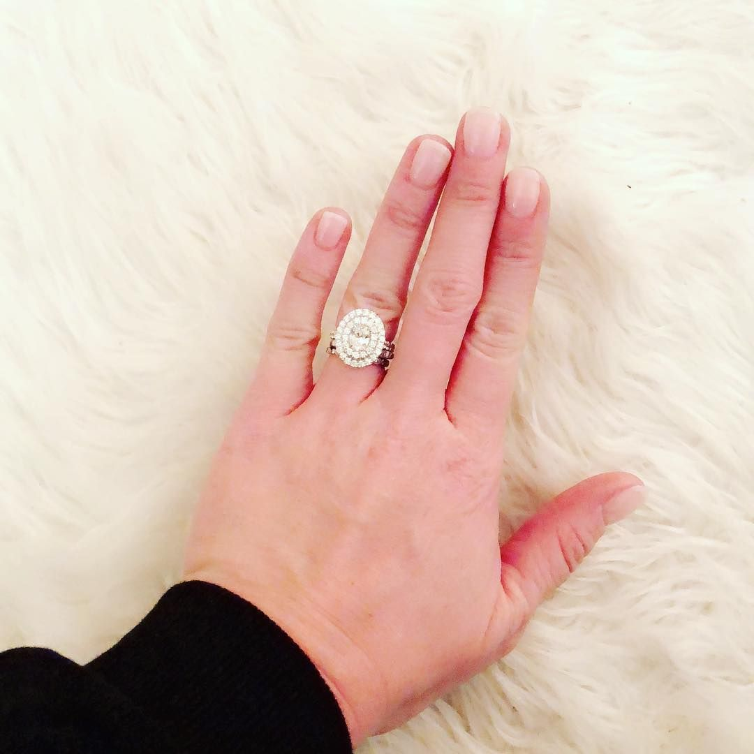 Pin by Sara Lawson on Ring I went to buy   Pinterest   Halo setting ...