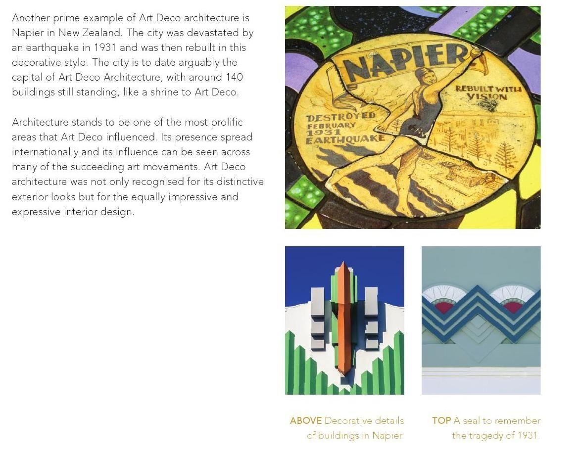 Napier architecture details. Art Deco - Design Is Geometric by Alexandros Kosmidis - issuu