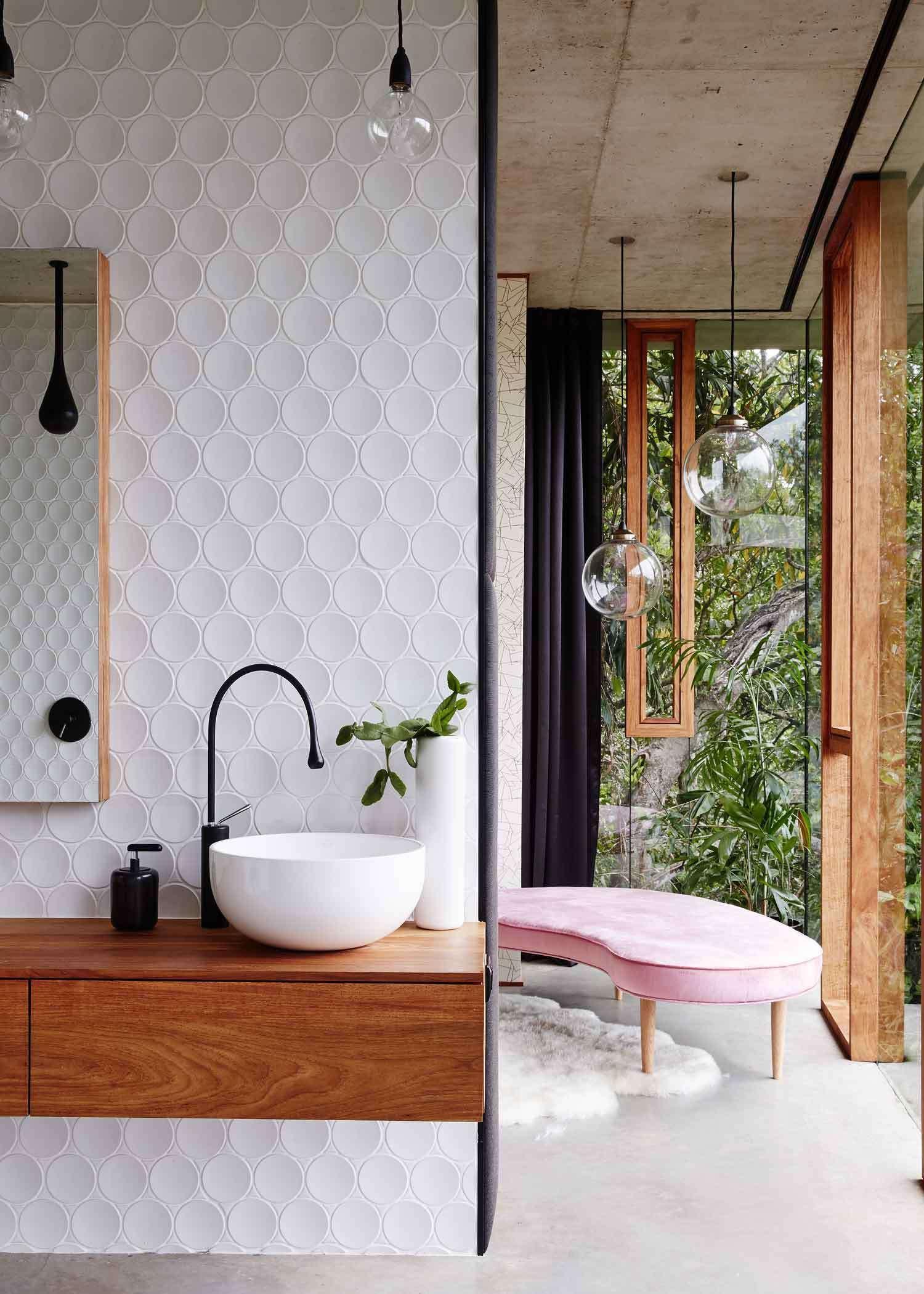 Jesse Bennett Planchonella House Cairns Australia bathroom