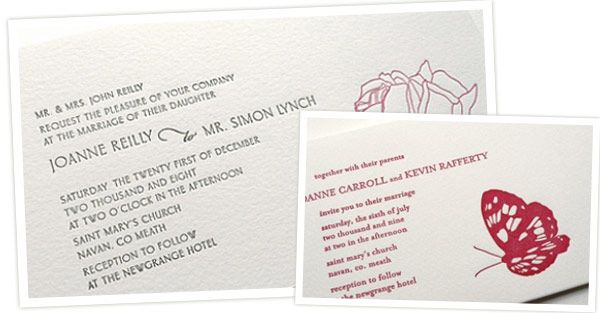 Wedding Invitation Wording One Fab Day Guide Invitation