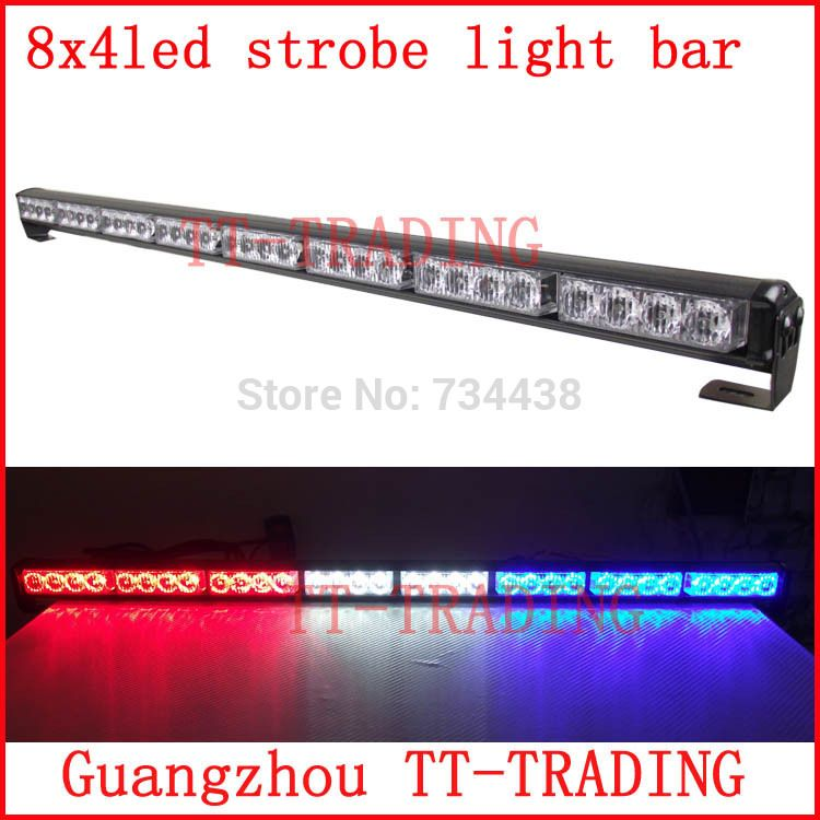8x4 led police strobe lights vehicle strobe light bar car warning 8x4 led police strobe lights vehicle strobe light bar car warning lights led emergency strobe lights mozeypictures Gallery