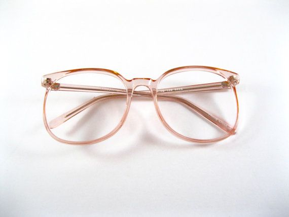 d0b4a6f995 Circular eyeglasses frames. Rose pink plastic by holdenism on Etsy ...