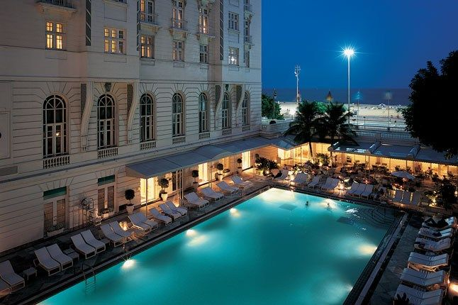 Copacabana Palace Rio De Janeiro Brazil An Art Deco Feast Overlooking The Legendary Beach In Grandiose