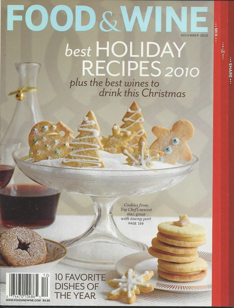 Food and wine magazine christmas recipes pinterest wine magazine food and wine magazine holiday recipes christmas cookies india cuisine cabernet forumfinder Choice Image
