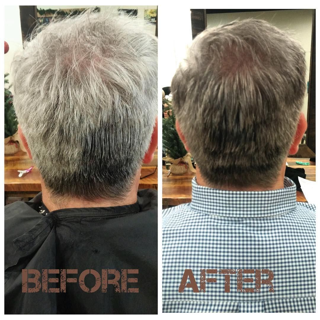 blending gray hair color