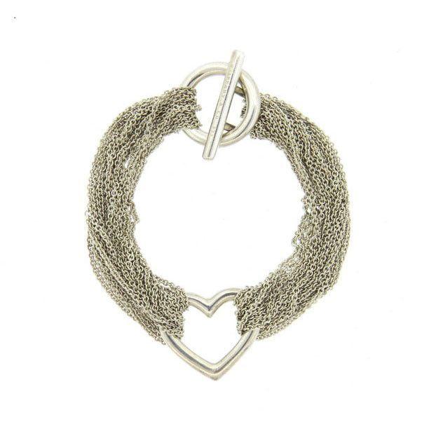 co sterling silver multi strand open