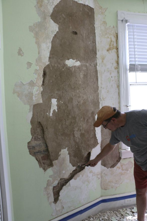 Restoring Plaster Walls Bringing Stephanie S Room Back To Life