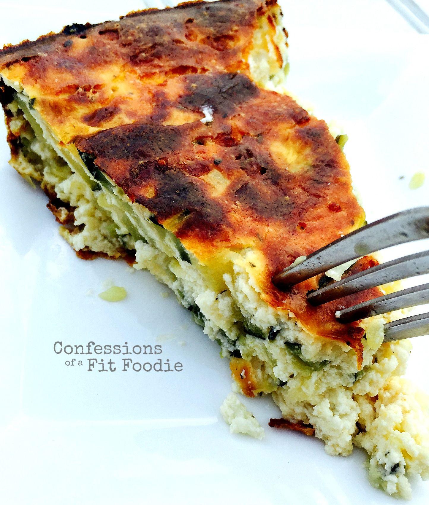 Crustless Zucchini Pie 21 Day Fix Breakfast 21 Day Fix Meals Recipes