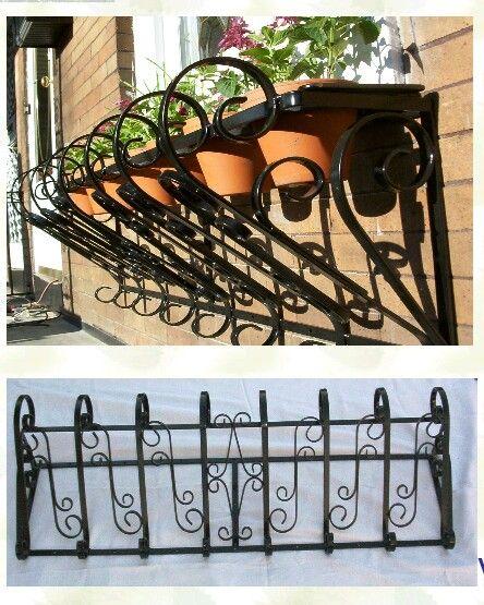 macetero hierro de ventana | maceteros | pinterest | ventana y