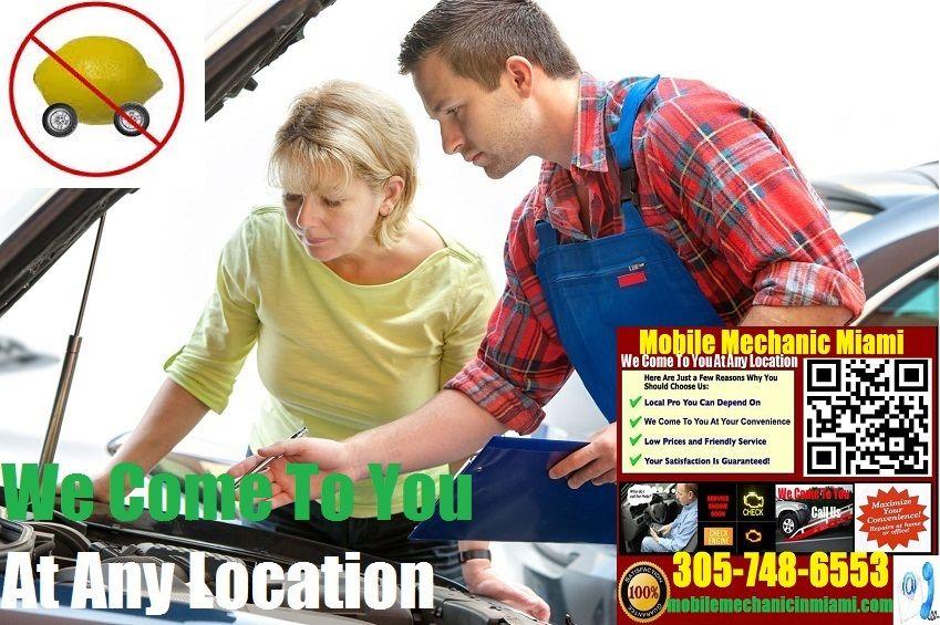 Pre Purchase Car Inspection Miami Mobile Auto Mechanic