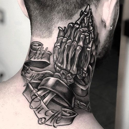 101 Best Neck Tattoos For Men Cool Designs Ideas 2019 Guide Neck Tattoo For Guys Best Neck Tattoos Tattoos For Guys