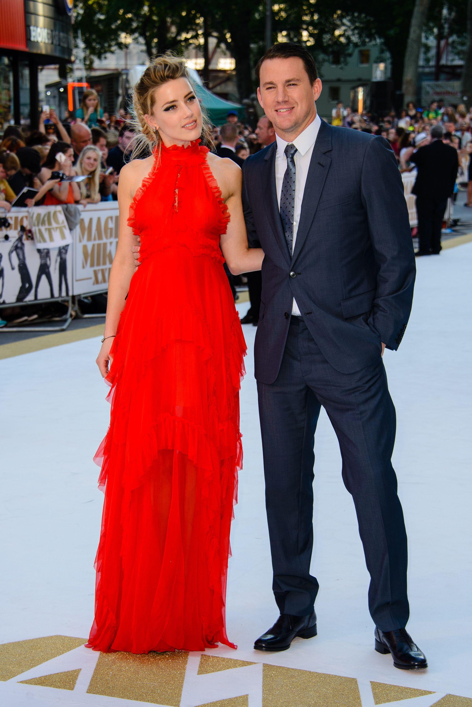Amber Heard And Channing Tatum