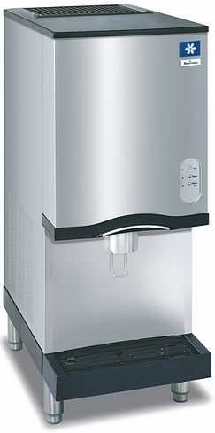 Manitowoc Sn 12 Nugget Ice Maker And Dispenser Nugget Ice Maker Ice Machine Ice Maker