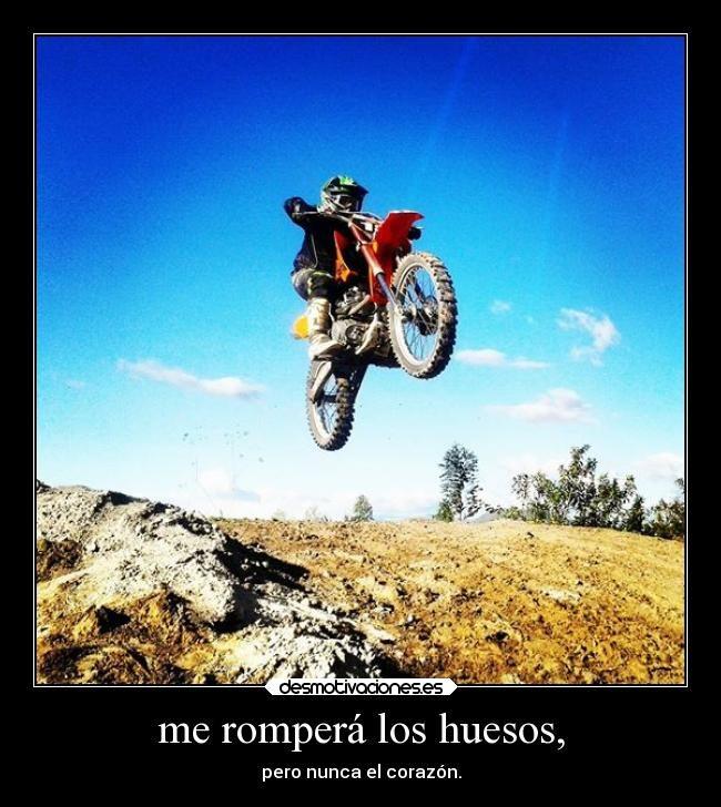 Carteles Amor Motocross Desmotivaciones Motocicletas