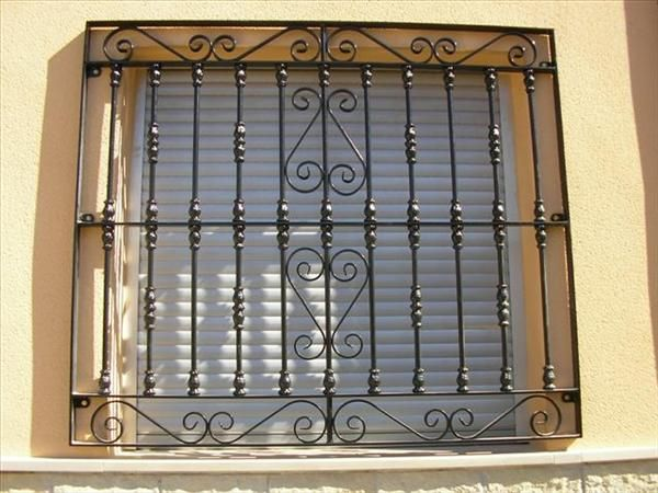 Herreria herreria pinterest rejas ventana y hierro for Puertas de lujo de herreria