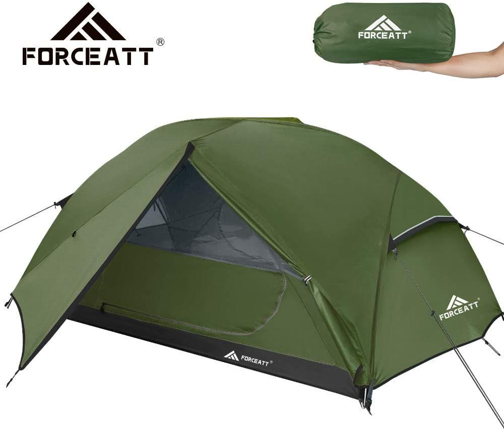 Forceatt Tent 3 Person Camping Tent Waterproof And Windproof 3 4 Seasons Ultralight Backpack Tent In 2020 Backpacking Tent Tent Camping Tent