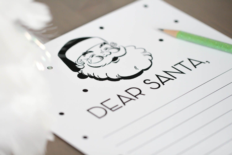 Fabulous Holiday Printables  Dear Santa  Dear Santa Free
