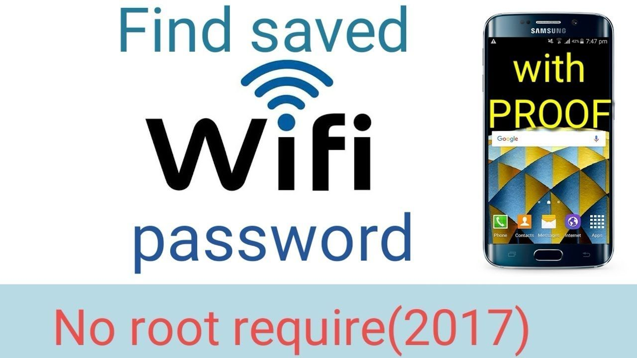How To View Saved WiFi Password on Your Android Phone Not
