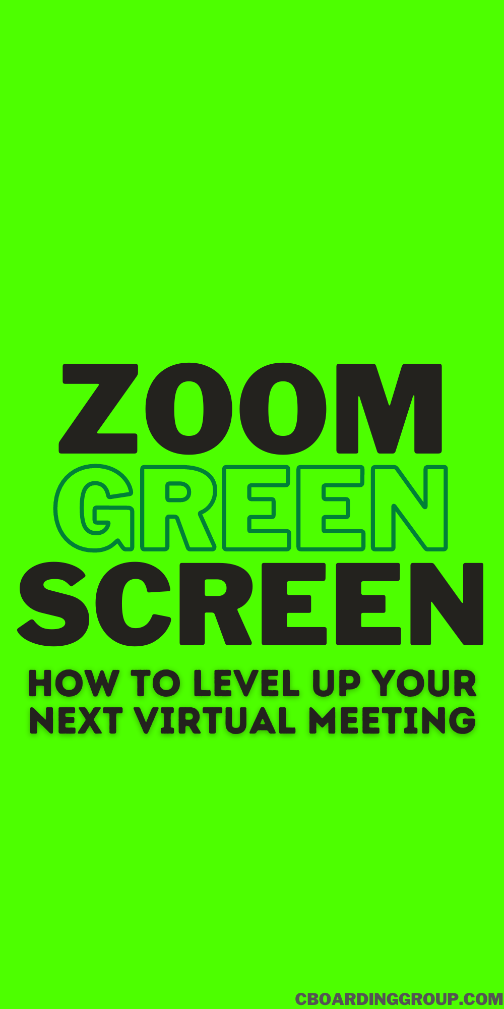 Where To Buy The Best Green Screen For Zoom Meetings Greenscreen Work From Home Tips Best Green Screen