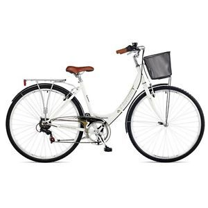 Have One To Sell Sell It Yourself Details About New Ladies Viking Vitesse Traditional 6 Speed White Bike In 16 And 19 Frame Hybrid Bike White Bike Bicycle