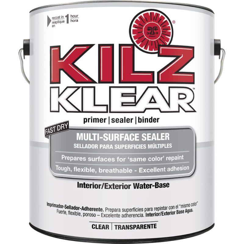 Kilz L220101 Klear Interior Exterior Water Based Clear Primer 1