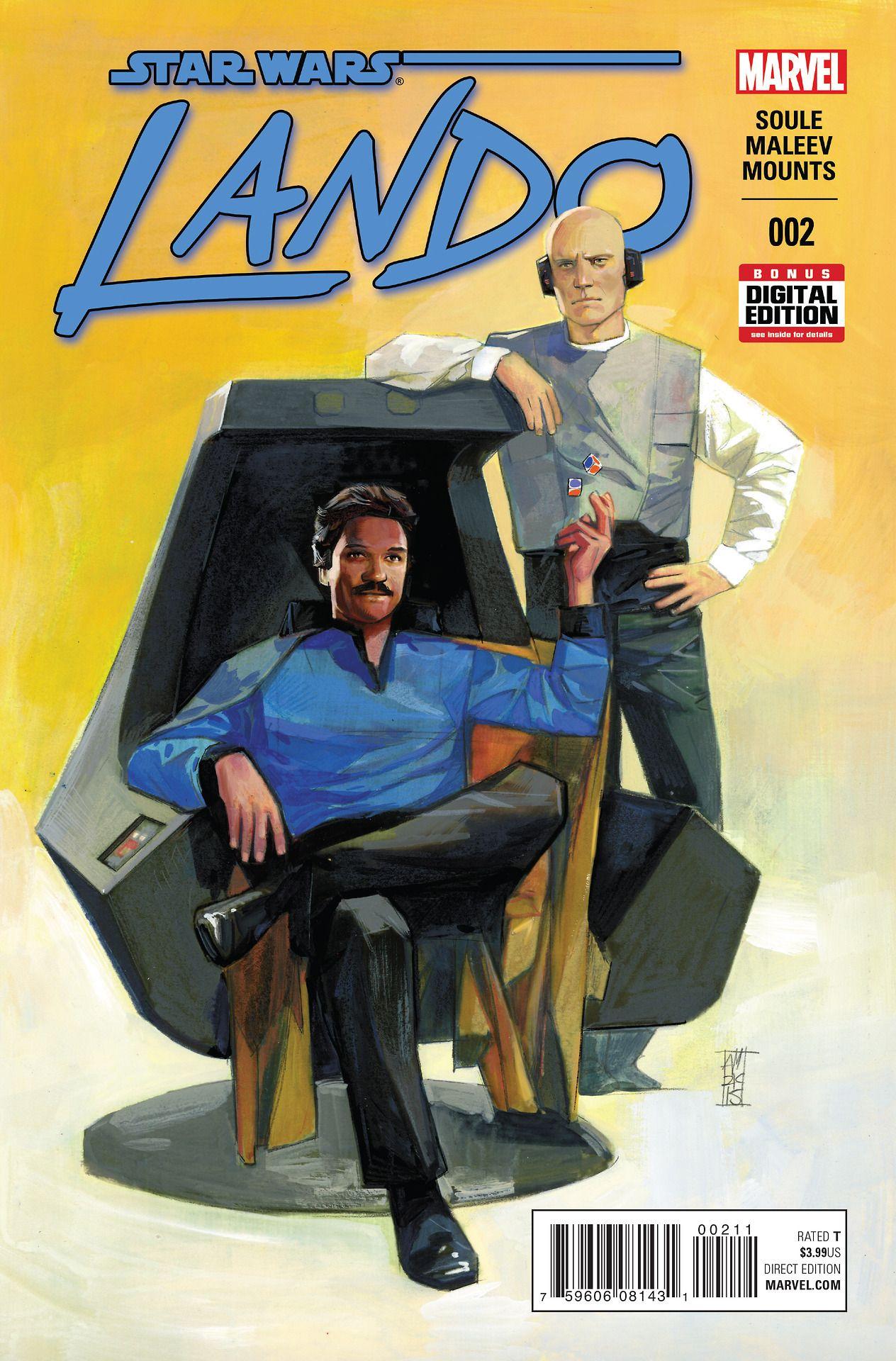 Star Wars Lando Calrissian (Billy Dee Williams)