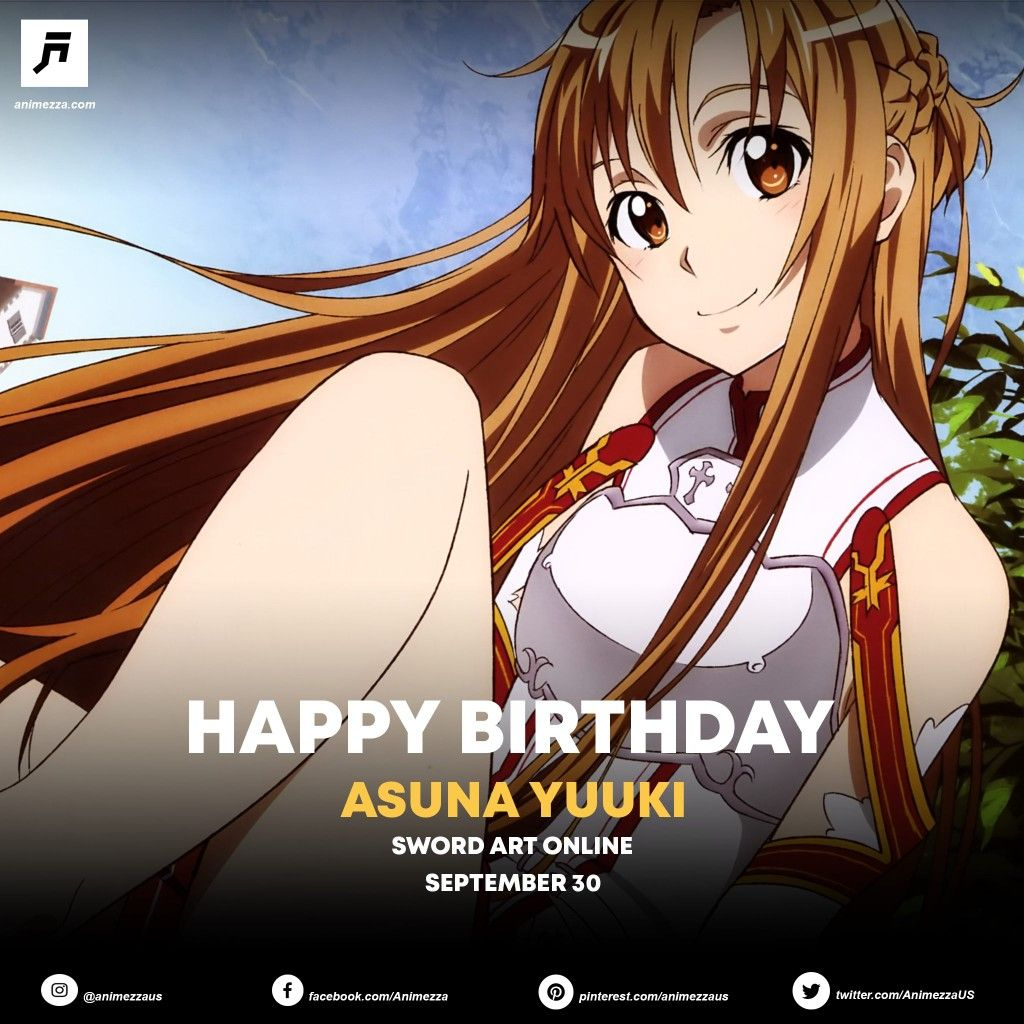 September 30 SAO AsunaYuuki Asuna