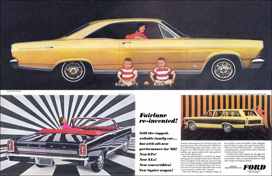 Fairlane Re-invented! | Print Ads | hobbyDB | Car ads | Pinterest ...