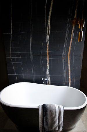 Nero Tempesta Arble Architecture Bathroom Bathroom Design Black Marble