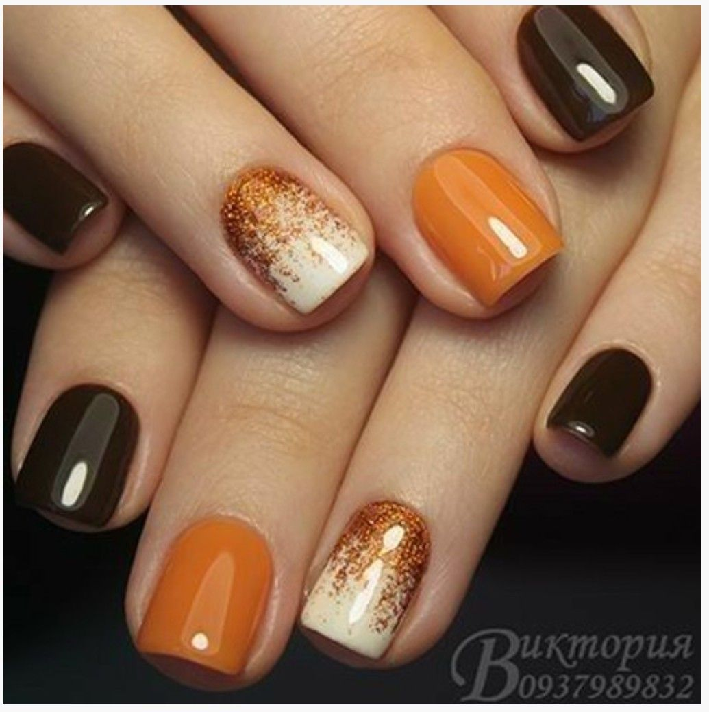 Pin by Ale Garcia on Halloween | Cute nails for fall, Toe ...