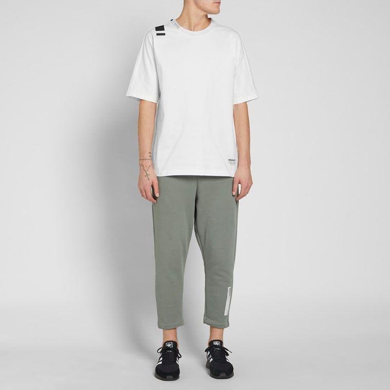 adidas nmd white t shirt