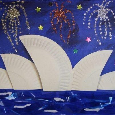 Kids craft for australia day m s australian tasmanian for Australian arts and crafts