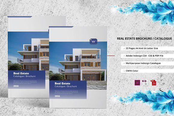 Real Estate Catalogue Brochure By Jstudio On Creativemarket
