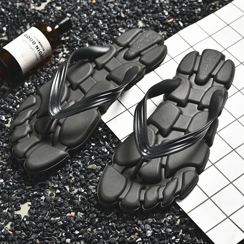2f98da7256de3b SHANTA 2018 New Summer Men Designer Flip Flops Men s Casual Sandals Fashion  Slippers Breathable Beach Shoes Hot Sales. Yesterday s price  US  12.79  (10.45 ...