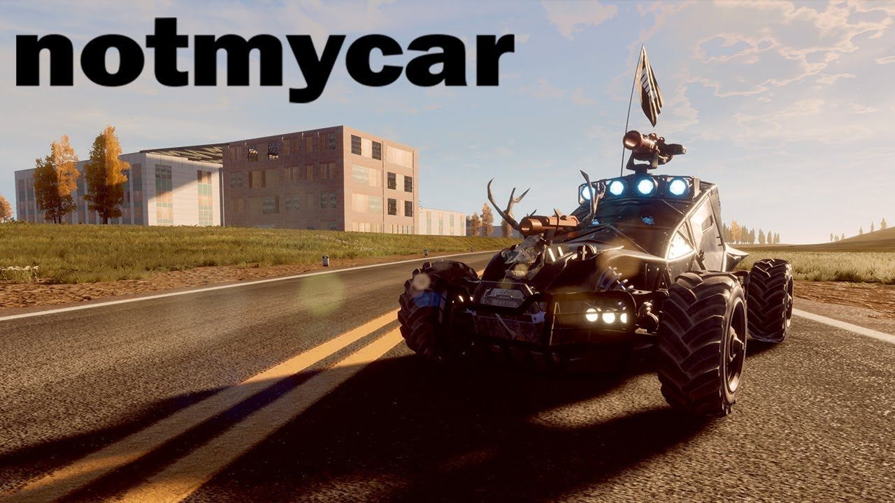 Vehicular Battle Royale notmycar Coming Soon Battle