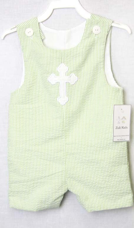 b1fcf10cf Baby Boy Baptism Outfit with Cross