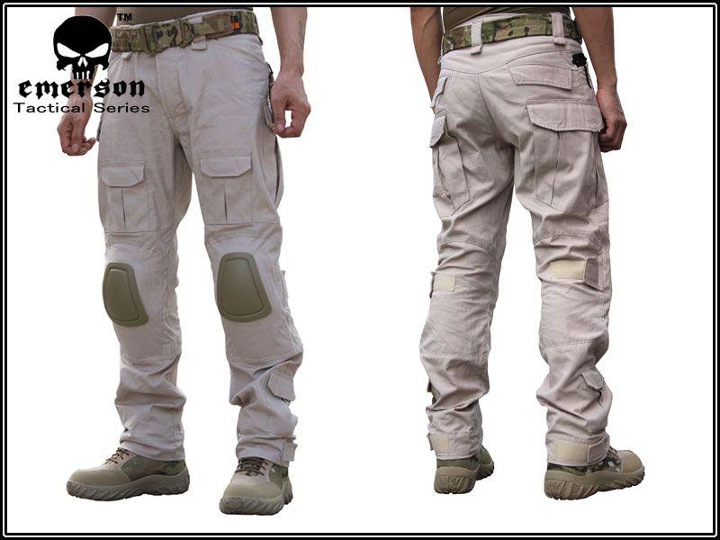 Emerson Gen2 Style Tactical Pants Khaki Army Panda