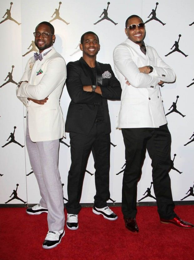 a89e0fc3fe43 Dwyane Wade and Chris Paul wearing the