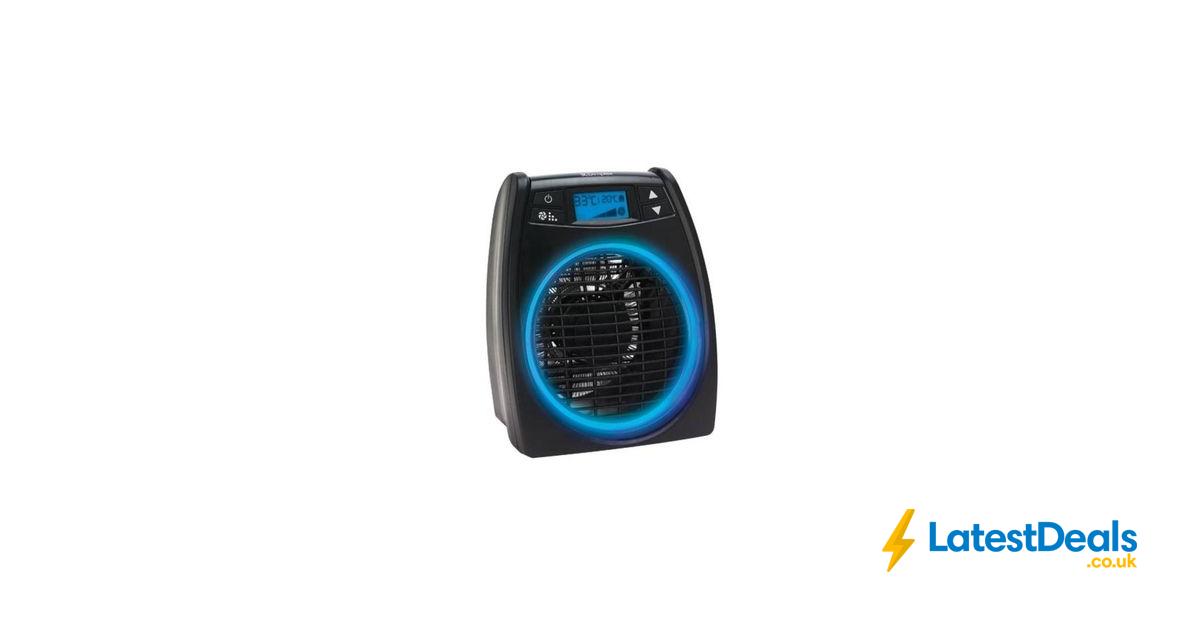 *SAVE £20* DIMPLEX GloFan Portable Hot & Cool Fan Heater