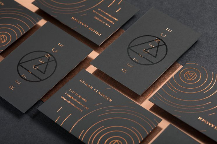 Reticence Business Card Business Card Design Inspiration Graphic Design Business Card Business Card Inspiration Business Card Design Inspiration
