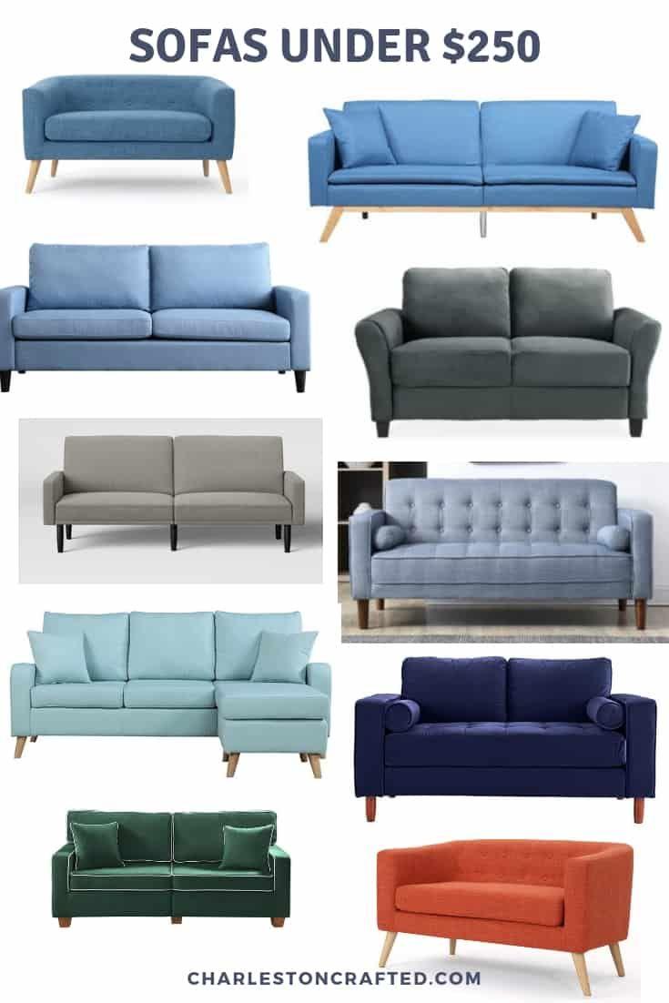 cheap sofas under $250 | Cheap sofas, Cheap living room furniture