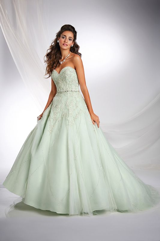 9099929976f Tiana Inspired Princess Wedding Dress - 2015 Disney s Fairy Tale Weddings  by Alfred Angelo