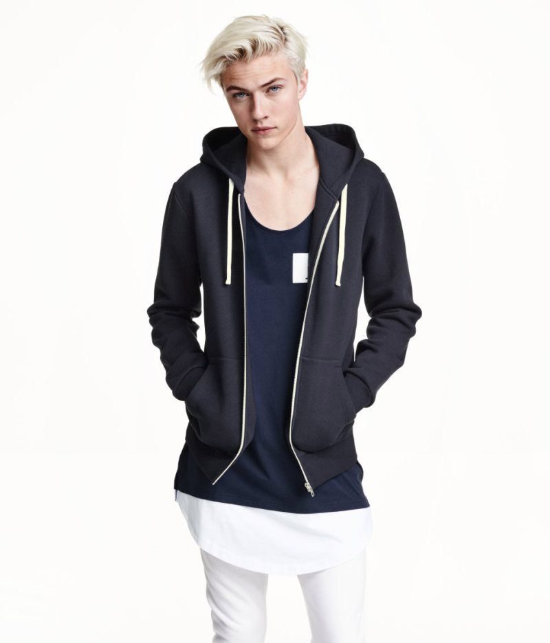 Lucky Blue Smith H&M 2015 Line