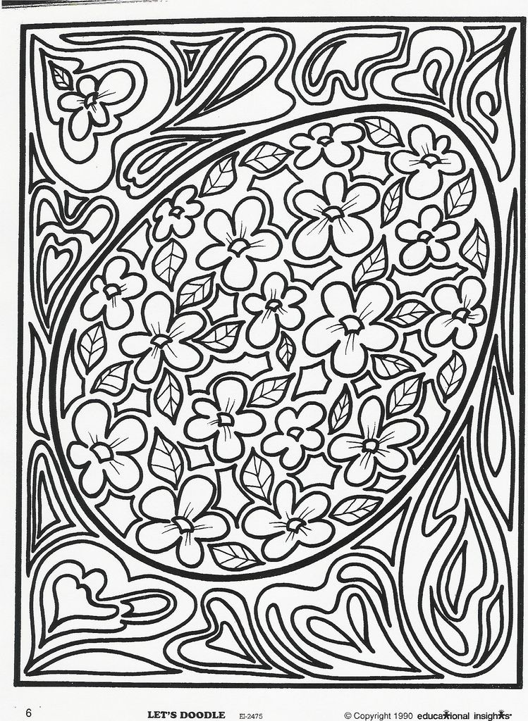 Its A Coloring Page Just For You Free Educational Insights Printable From Our Classic Lets Doodle Book