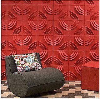 Paperforms 3d Wallpaper Tiles If We Have To Have Sound Prooof Stuff On Walls What About