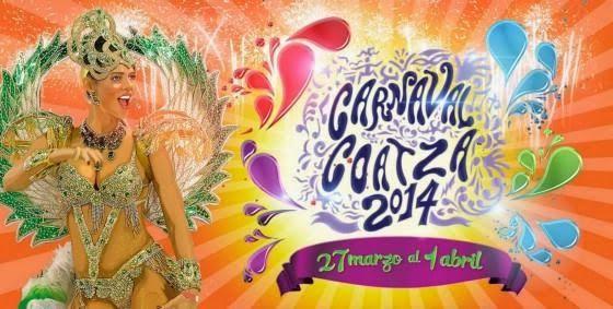 Coatza Digital: Presentarán el miércoles cartelera artística del Carnaval Coatza 2014