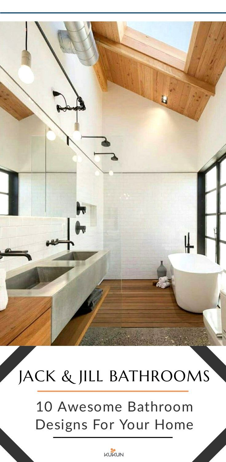 10 stylish and practical jack and jill bathroom designs